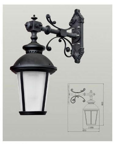 Настінний світильник  RHS14346