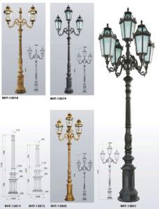 Парковий світильник  RHT13014-015_018-021